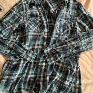 EUC XL LLBean Flannel Shirt